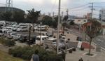 071014ひらつかアリーナの駐車場