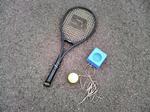 90418テニスの練習