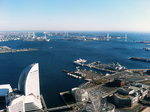 070107展望フロアからの風景・パシフィコ横浜
